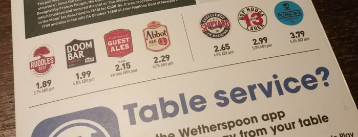 The Man In The Moon (Wetherspoon) is one of London4.