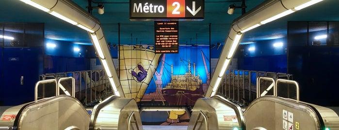 Métro Joliette - Euroméditerranée [M2] is one of Went before.