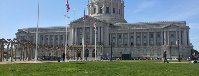 Civic Center Plaza is one of San Francisco!.