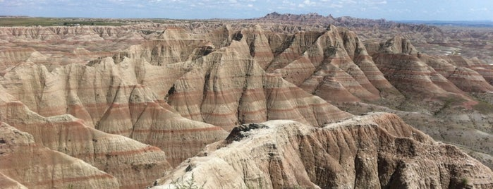 Badlands National Park is one of Far Far Away.