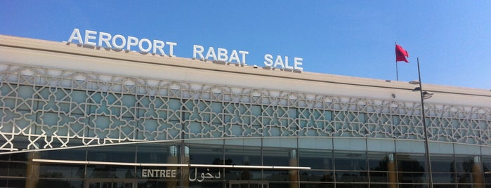 Rabat–Salé Airport (RBA) is one of Airports.