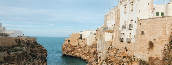 Polignano a Mare is one of Puglia Road trip.