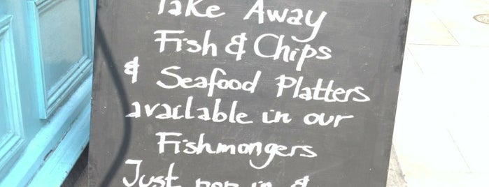 Fishworks Marylebone is one of My London spots....