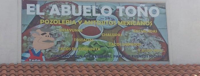 El Abuelo Toño is one of Para Desayunar C.