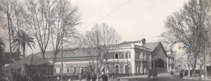 Estación de Málaga-María Zambrano is one of Lugares Históricos en Málaga - Historic Sites.