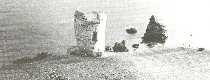 Torre del Rio de la Miel is one of Torres Almenaras en el Litoral de Andalucía.