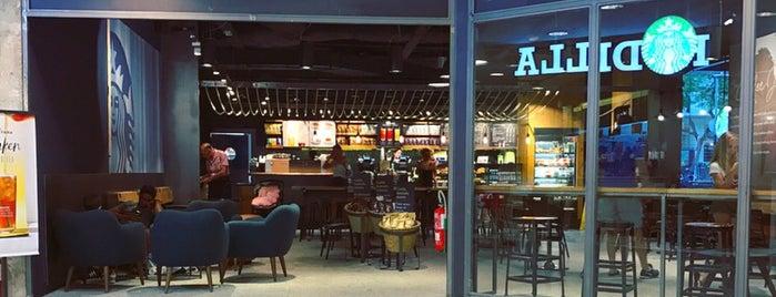 Starbucks is one of Marbella.