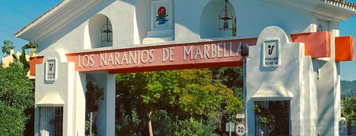 Los Naranjos de Marbella is one of Lugares favoritos de Natia.