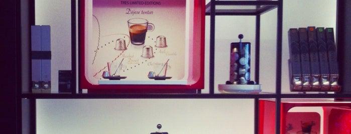 Nespresso Boutique is one of Tempat yang Disukai Run The.