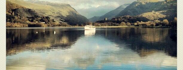 Llyn Padarn is one of Wales.