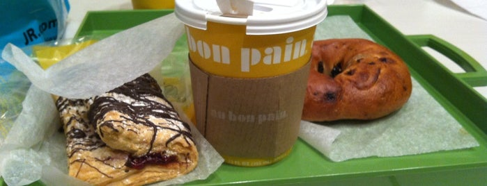 Au Bon Pain is one of NYC: FiDi Luncher.