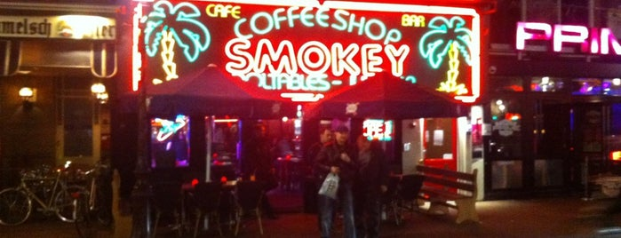 Coffeeshop Smokey is one of Amsterdam.