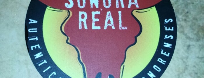 Sonora Real is one of restaurantes.