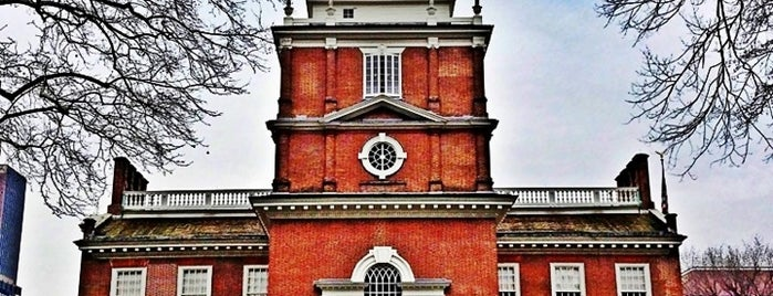Independence Hall is one of Philly.