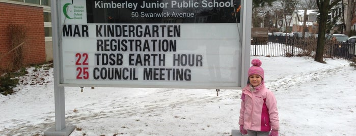 Kimberley School is one of tim'in Beğendiği Mekanlar.