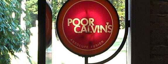 Poor Calvin's is one of Places to eat.