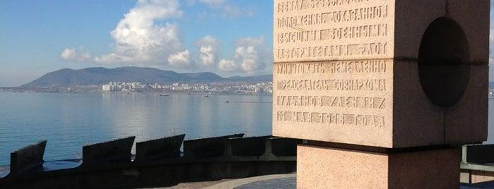 Памятник морякам революции is one of Tempat yang Disukai Vlad.