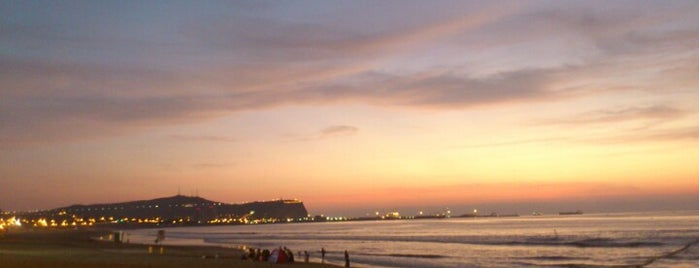 Playa Chinchorro is one of mis lugares.