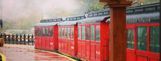 Estación Cascada La Macarena [Tren del Fin del Mundo] is one of Locais curtidos por Aline.