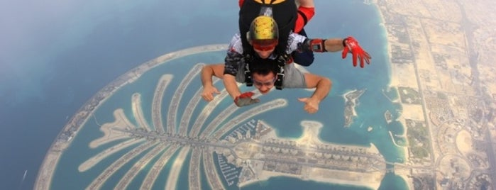 Skydive Dubai is one of Dubai's very best Places = P.Favs.