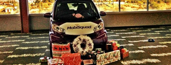 MobiSquad is one of Locais salvos de Steve.