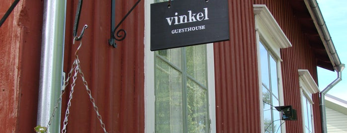 Vinkel Guesthouse is one of Posti che sono piaciuti a Martti.