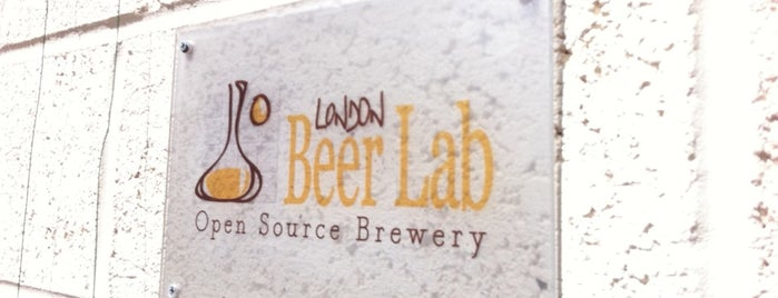 London Beer Lab is one of London's Best for Beer.