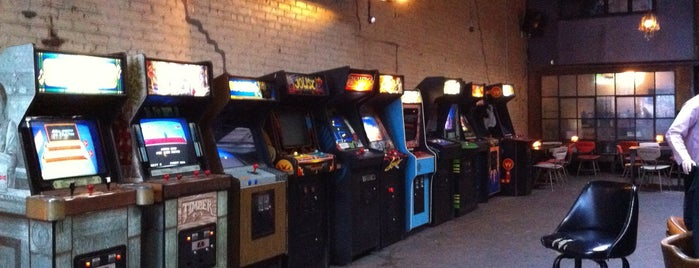 Barcade is one of 20 Great Spots for a Summer Beer in NYC.