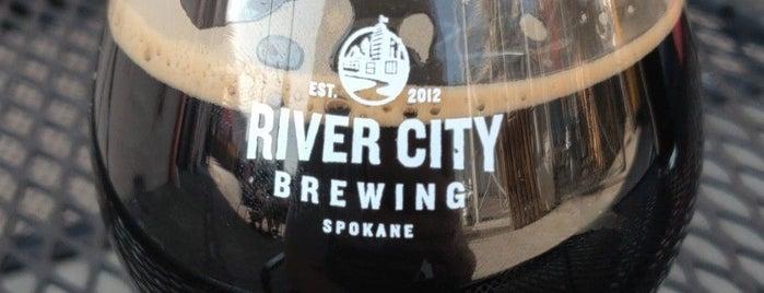 River City Brewing is one of Joey D's 50 Favorite Spokane Spots.