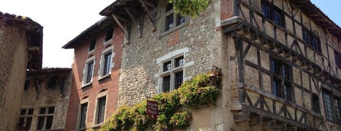 Cité médiévale de Pérouges is one of Les plus beaux villages de France.