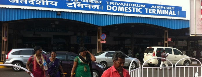 Trivandrum Domestic Terminal is one of My airports.