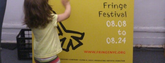 The Present Company - FringeNYC is one of Coalition Partners - One Percent for Culture.