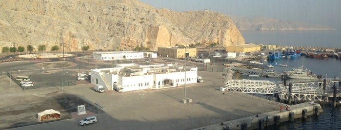 Khasab Port is one of Middle East.