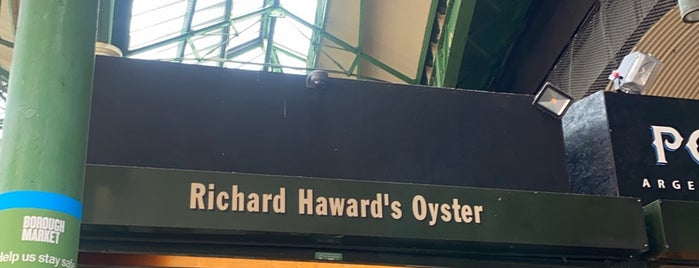 Richard Haward's Oysters is one of Want to Try Out.