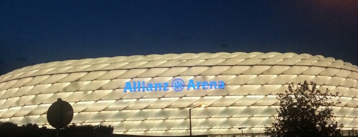 Allianz Arena is one of The Great Football Pilgrimage.