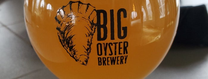 Big Oyster Brew Pub is one of Breweries.