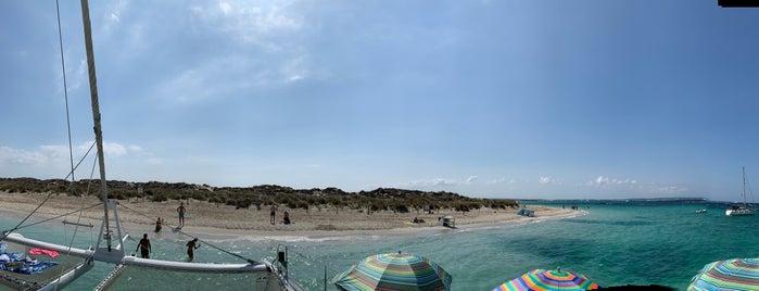 Puerto el Espalmador is one of Formentera.