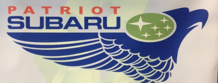 Patriot Subaru of Saco is one of Subaru of New England Dealers.