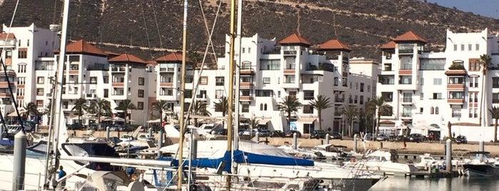 Marina Agadir is one of Maroaka.