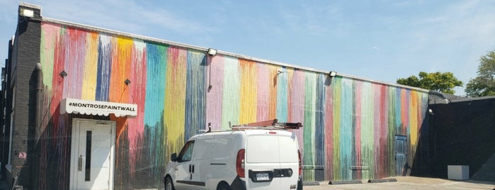 Biscuit Paint Wall is one of Houston.