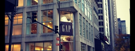 GAP is one of Chicago trip 2018.