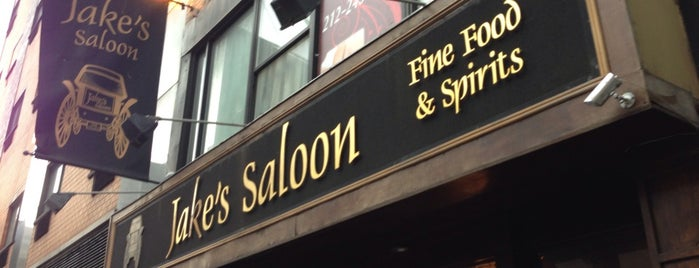 Jake's Saloon is one of Bars.