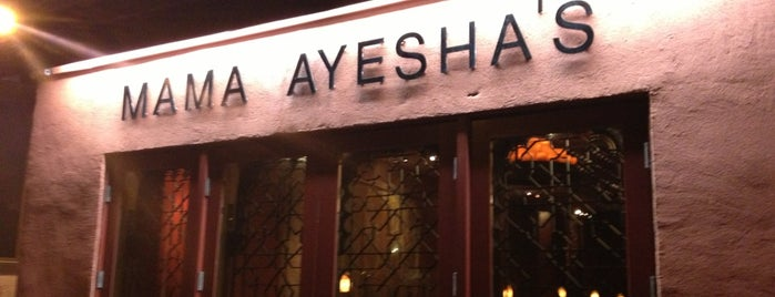 Mama Ayesha's is one of Adams Morgan and Mt. Pleasant.