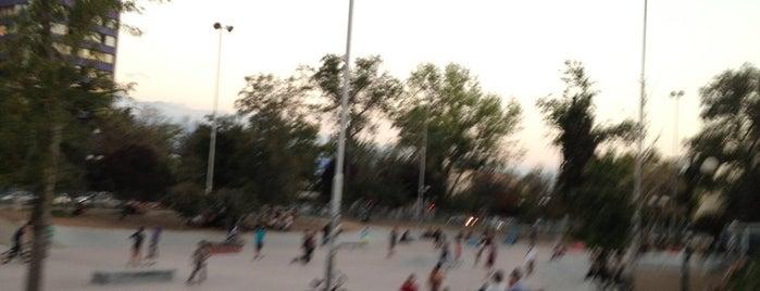 Skatepark Parque Bustamante is one of Providencia.