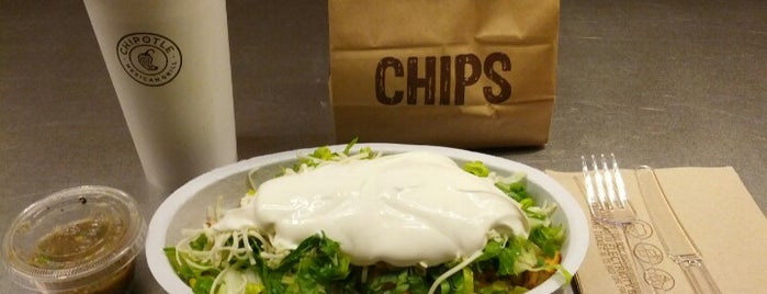 Chipotle Mexican Grill is one of New York City.