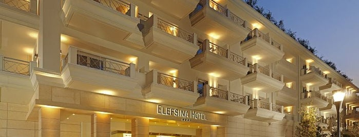 Elefsina Hotel is one of Lieux qui ont plu à Aris.