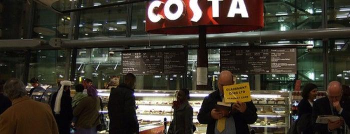 Costa Coffee is one of Locais curtidos por Del.