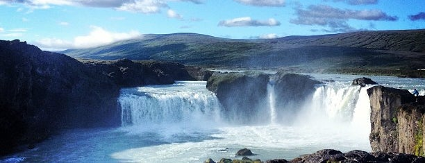 Goðafoss is one of Iceland.