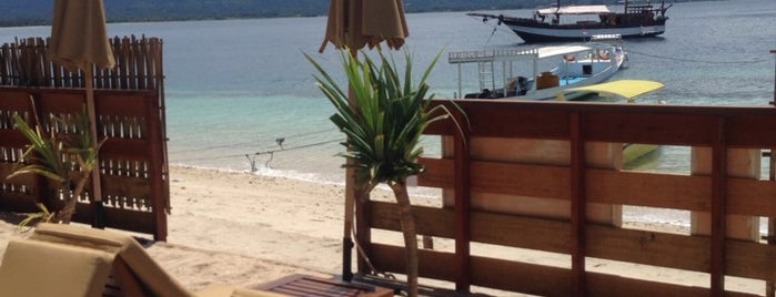 Caballito De Mar is one of best place in Lombok.