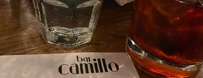 Bar Camillo is one of New Spots NYC.